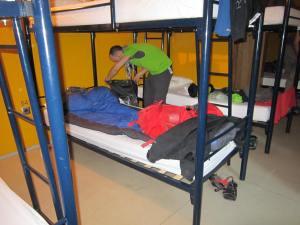 Sleeping-in-Pamplona