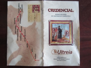 Pilgrim Credential, credencial, or Pilgrim Passport