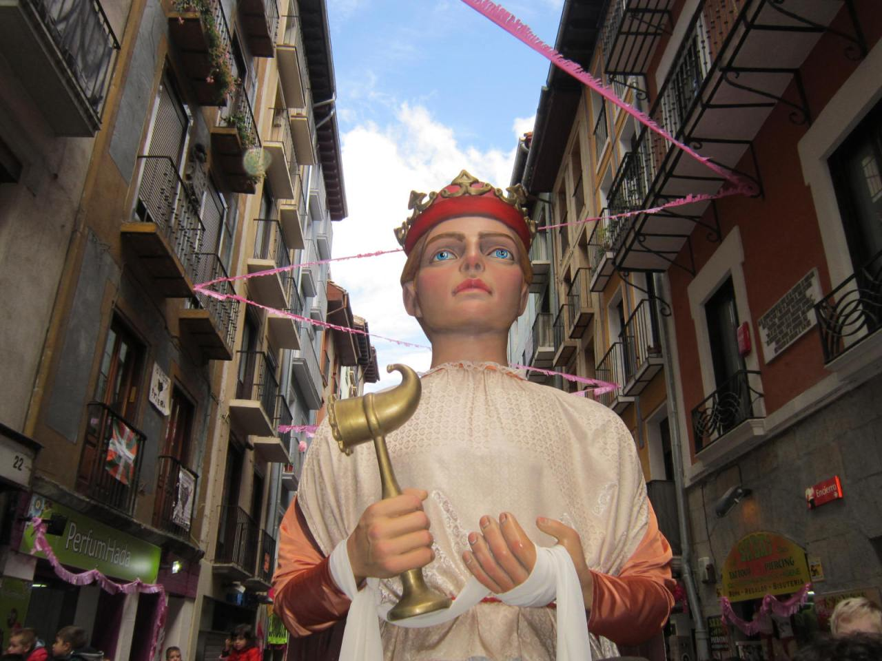 Fiesta in Pamplona (on the Camino Frances/FrenchWay)