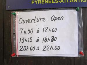 Pilgrim office opening times