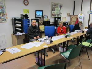Pilgrim office staff