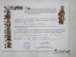 3 Euro Compostela