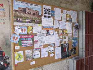 Pilgrim message board
