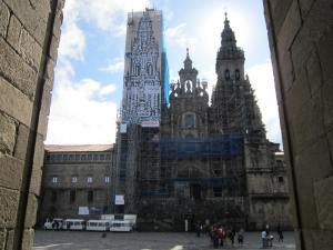 Santiago cathedral renovations