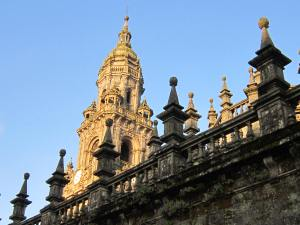 Santiago cathedral towers