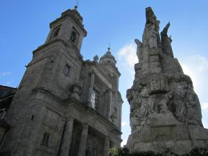 San Francisco church Santiago de Compostela