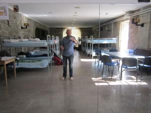 Santiago albergue beds