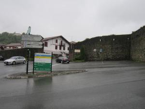 St.Jean.Pied.de.Port-arrival-parking-area-for-the-bus-from-Pamplona
