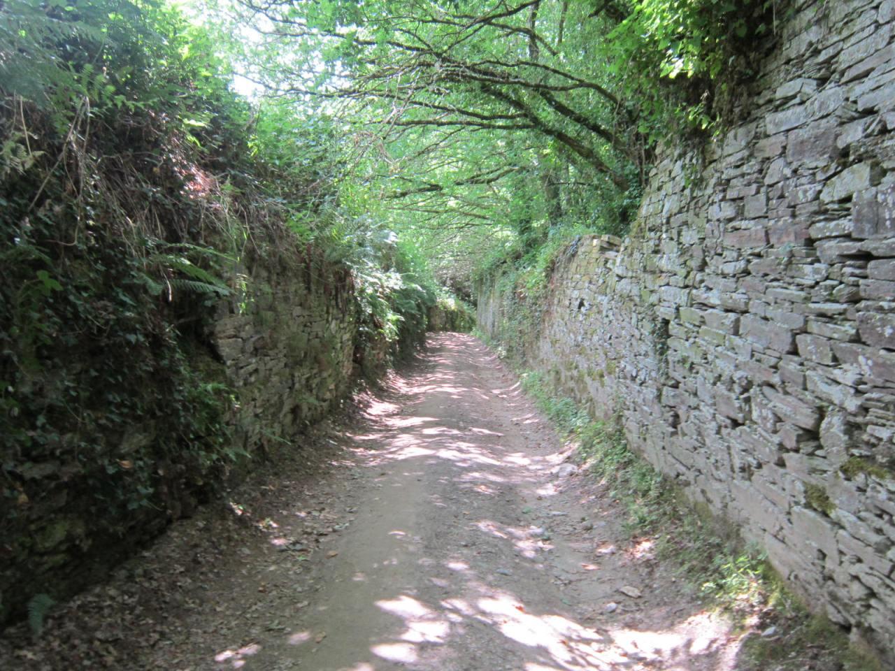 Samos monastery on the Camino de Santiago