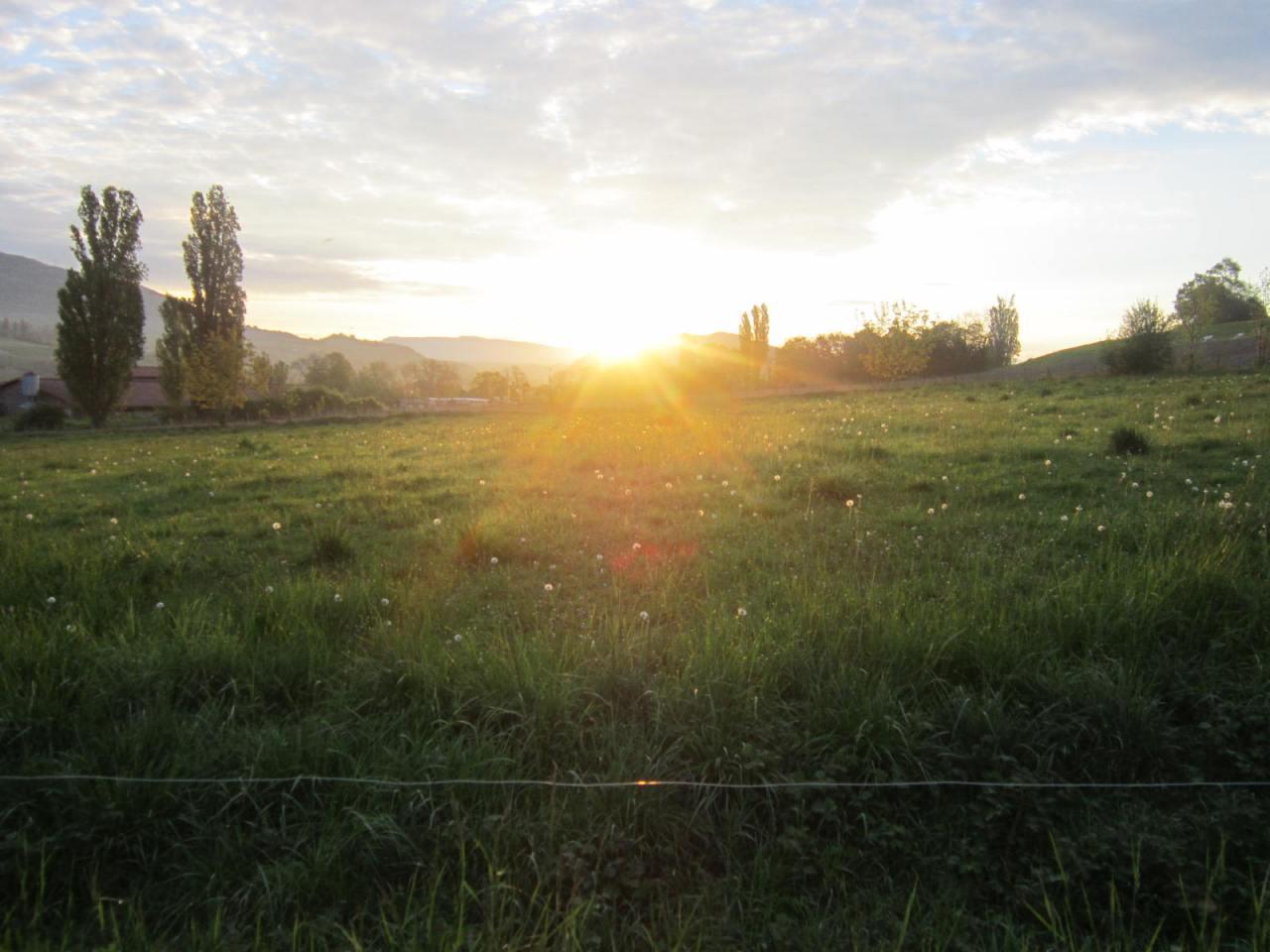 Sunrise on the Geneva Way