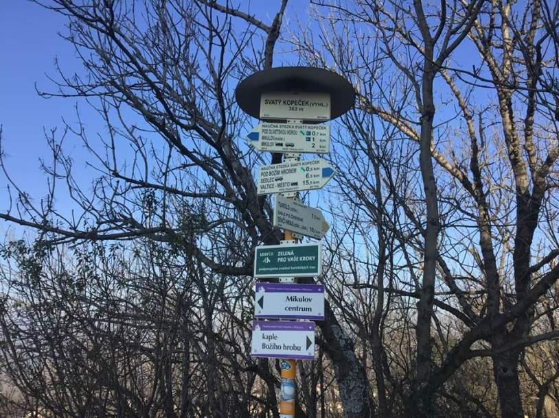 Camino-signs-Brno-Mikulov