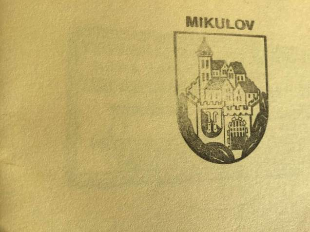 Mikulov-stamp